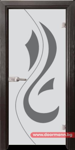 тъклена врата модел Sand 14-10