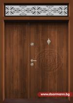 Еднокрила входна врата Т-110- цвят Златен дъб